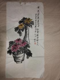 原中国社会科学出版社社长杜敬国画作品(1)