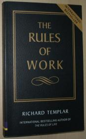 英文原版书 The Rules of Work - A Definitive Guide to Personal Success 平装本 2002 by Richard Templar  (Author)