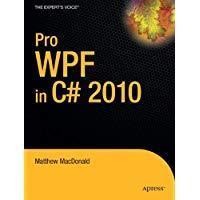 Pro WPF in C# 2010  销售到2010年