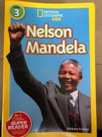 英文平装 National Geographic Readers: Nelson Mandela (Readers Bios)  国家地理读者3:纳尔逊曼德拉(读者简介)