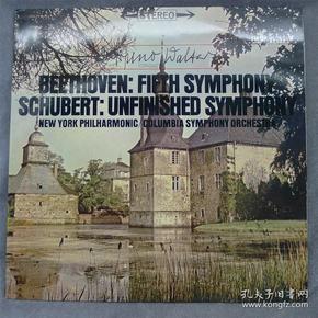 瓦尔特 指挥 贝多芬 第五交响曲 舒伯特 第八交响曲 黑胶LP唱片801