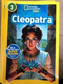英文平装 National Geographic Readers: Cleopatra (Readers Bios) 国家地理读者3:Cleopatra(读者群)