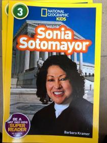 平装 National Geographic Readers: Sonia Sotomayor 3 国家地理读者:索尼娅索托马约尔