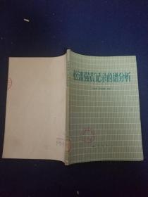 松潘强震记录的谱分析