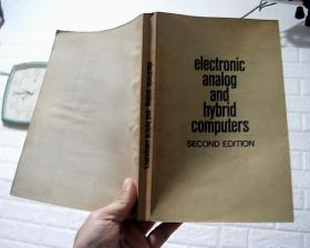 electronic analog and hybrid computers 电子模拟及混合计算机 英文版