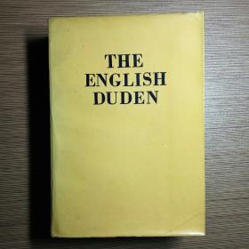 THE ENGLISH DUDEN 大杜登英语图解词典 增补版