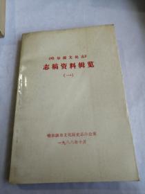 志稿资料辑览(一、二)《哈尔滨文化志》