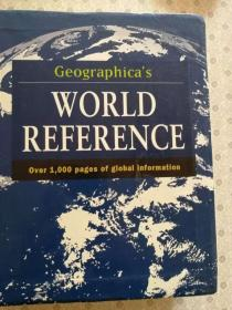 Geographicas World Reference  英语原版 '
