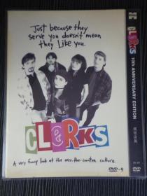 D9 疯狂店员 Clerks 又名: 无事生非 / 便利店凼凼转 导演: 凯文·史密斯 1碟 类型: 喜剧