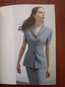 应大时装2000春夏。时尚女装画册,厚铜版纸