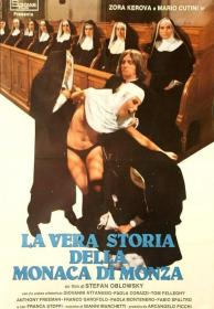 KL 意大利 布鲁诺·马泰 Bruno Mattei 尼僧背德 La vera storia della monaca di Monza (1980) DVD The True Story of the Nun of Monza 蒙扎的尼姑
