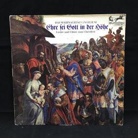 古典音乐黑胶唱片:DAS WEIHNACHTS-EVANGELIUM,Lieder und chöre zum Christfest 七八十年出版 大33转