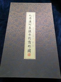 九省运河泉源水利情形图(中国国家图书馆善本特藏部特藏精品)品好