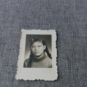 长发美女老照片