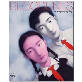 现货 Bloodlines: The Zhang Xiaogang Story血缘:张晓刚的故事 中国当代艺术家 英文原版艺术画册画集图书 血缘的历史