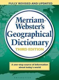 英文原版 Merriam Websters Geographical Dictionary 韦氏 地理学英文词典