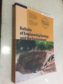 Bulletin of Engineering Geology and the Environment 工程地质与环境公报(外文) 详见书影图片