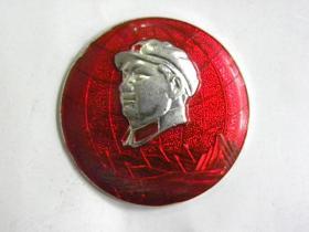 毛主席像章-参观井冈山纪念像章
