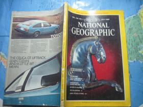 NATIONAL GEOGRAPHIC1980年第1期(英文