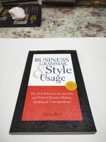 英文原版书: Business Grammar Style & Usage
