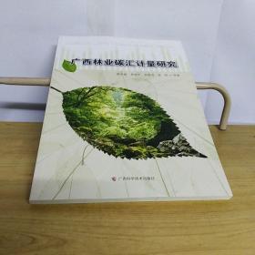广西林业碳汇计量研究