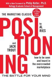 英文原版 Positioning: The Battle for Your Mind 定位:争夺用户心智的战争 英语 特劳特
