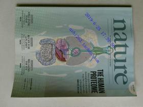 自然原版外文杂志期刊 nature 509 527-656 2014/05/29 no.7502