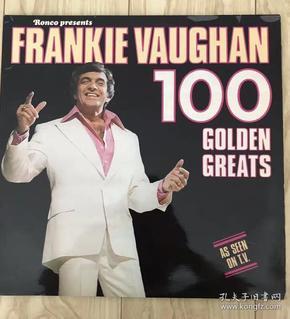 弗朗基.沃恩 Frankie Vaughan 100首精选歌曲 乡村民谣2LP黑胶