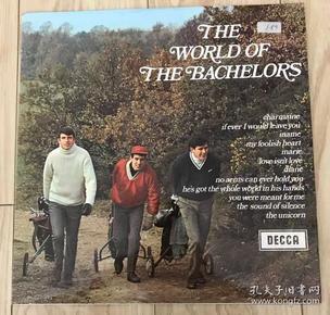 爱尔兰流行乐队 The World Of The Bachelors 英版 黑胶LP唱片