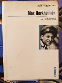 Max Horkheimer zur Einführung