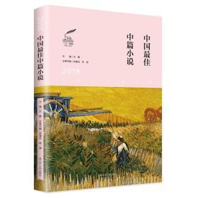 太阳鸟文学年选:2018中国最佳中篇小说