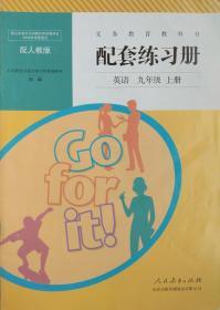 英语 九年级 上册 配套练习册 英语 九年级上册 配人教版 九上 正版