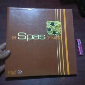 原版英文书:泰国温泉(大12开精装本铜版彩印养生理疗图册)(the spas of thailand)(孤本)