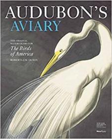 Audubons Aviary: The Original Watercolors for The Birds of America 奥杜邦鸟舍:美国鸟类的原始水彩画