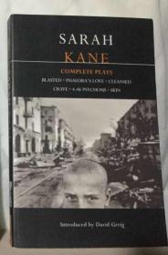 萨拉 凯恩戏剧全集 Sarah Kane: Complete Plays: Blasted; Phaedras Love; Cleansed; Crave; 4.48 Psychosis; Skin