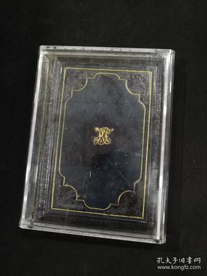 祈祷书---为基督献花,袖珍牛皮精装,印制极为精美