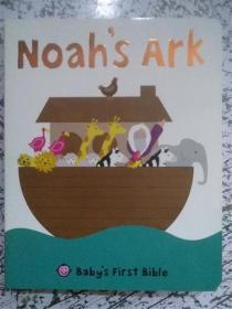 尾单 纸板书 Noah's Ark   诺亚方舟 宝贝的第一本