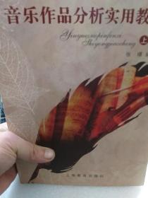 张璟编著《音乐作品分析实用教程》(上,下)两册全