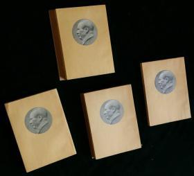 毛泽东选集建国北京初版1—4,第一卷为罕见的特种纸1951年11月北京第二版