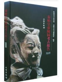 正版 秦始皇帝陵园考古报告 2000(16开精装 全一册)文物出版社
