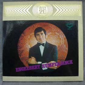 Engelbert Humperdinck 英格伯 汉伯汀克 抒情男声 日版黑胶唱片LP 808
