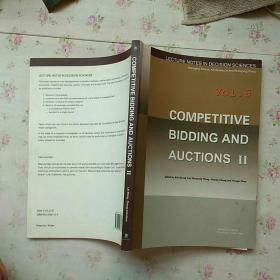 COMPETITVE BIDDING AND AUCTIONS Ⅱ【内页干净】现货