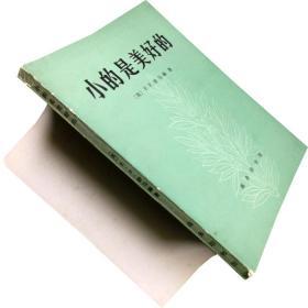 小的是美好的 舒马赫 书籍