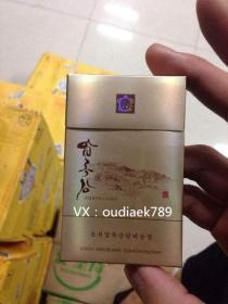 朝鲜 鸭绿江 烟盒收集 烟标收藏
