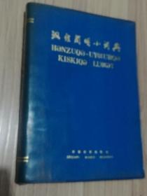 汉维简明小词典