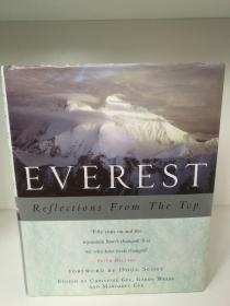 珠穆朗玛峰 Everest Reflections From the Top by Christine Gee (自然地理)英文原版书