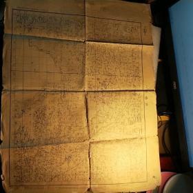 无锡城   【1956年复制地图 依据民国二十四年所修正之地形图图式】