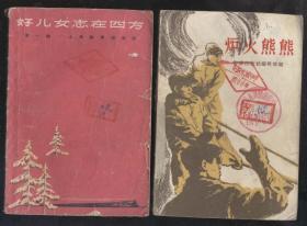 爐火熊熊(1958年1版1印)2019.6.12日上