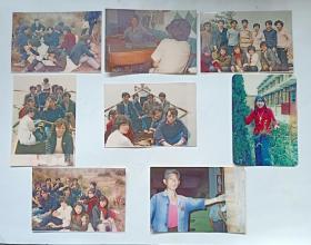 八十年代彩色老照片(8张合售)