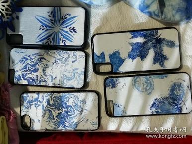 印染手机壳北京服装高材生纯手工作品漂亮低价!